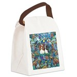 PS-TwoCavaliers Canvas Lunch Bag