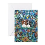PS-TwoCavaliers Greeting Cards (Pk of 20)