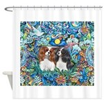 PS-TwoCavaliers Shower Curtain