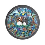 PS-TwoCavaliers Wall Clock
