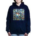 PS-TwoCavaliers Women's Hooded Sweatshirt