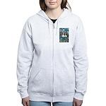 PS-TwoCavaliers Women's Zip Hoodie