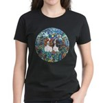PS-TwoCavaliers Women's Dark T-Shirt