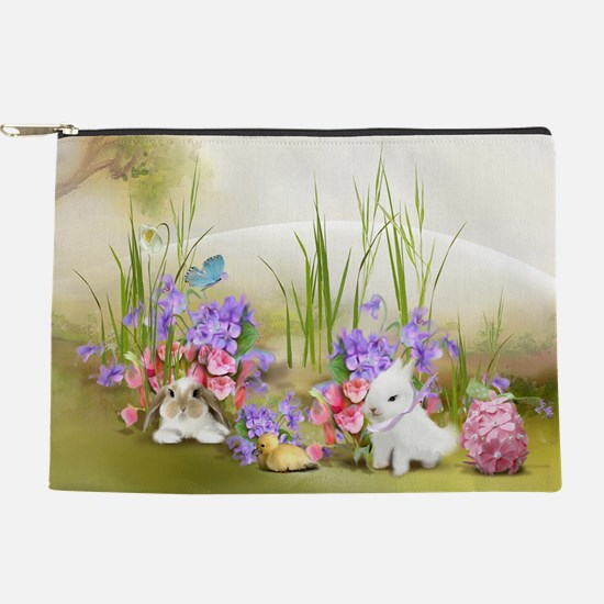 Easter Bunnies Makeup Pouch