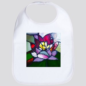 Lotus Flower Baby Bib