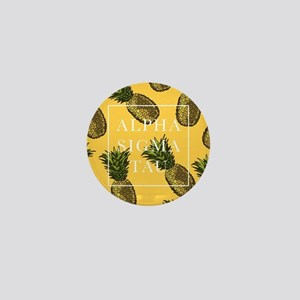 Alpha Sigma Tau Pineapples Mini Button