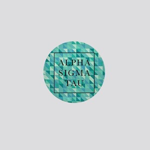 Alpha Sigma Tau Geometric Mini Button