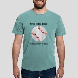 Personalized Baseball Mens Comfort Colors® Shirt