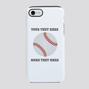 Personalized Baseball iPhone 8/7 Tough Case