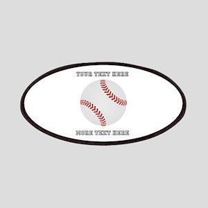Personalized Baseball Patch