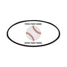 Personalized Baseball Patch