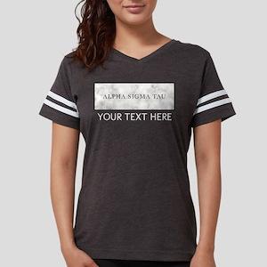 Alpha Sigma Tau Marble Perso Womens Football Shirt