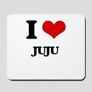 I Love JUJU Mousepad