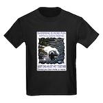 """""""Swimming"""" Kids Dark T-Shirt"""