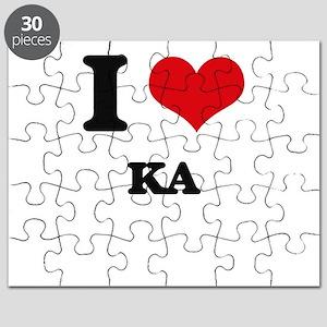 I Love KA Puzzle
