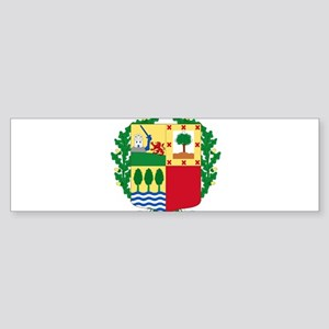 Basque Coat of Arms Bumper Sticker