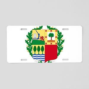 Basque Coat of Arms Aluminum License Plate