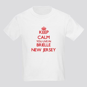 Keep calm you live in Brielle New Jersey T-Shirt
