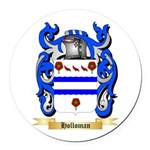 Holloman Round Car Magnet
