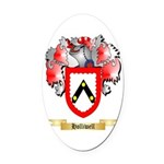 Holliwell Oval Car Magnet