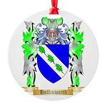 Hollinworth Round Ornament
