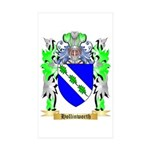 Hollinworth Sticker (Rectangle 50 pk)