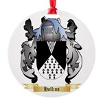 Hollins Round Ornament