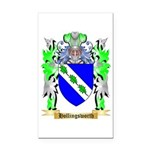 Hollingsworth Rectangle Car Magnet