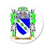 Hollingsworth Round Car Magnet