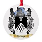 Hollings Round Ornament