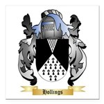 Hollings Square Car Magnet 3