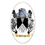 Hollings Sticker (Oval 10 pk)
