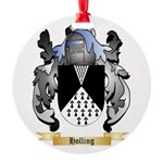 Holling Round Ornament