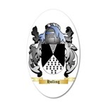 Holling 35x21 Oval Wall Decal