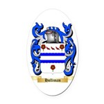 Holliman Oval Car Magnet