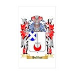 Holliday Sticker (Rectangle 50 pk)