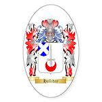 Holliday Sticker (Oval)
