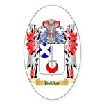 Holliday Sticker (Oval 50 pk)