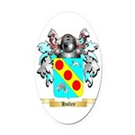 Holley 2 Oval Car Magnet