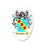 Holley 2 20x12 Oval Wall Decal