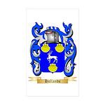 Hollands Sticker (Rectangle 50 pk)
