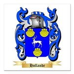 Hollande Square Car Magnet 3