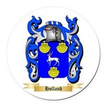 Holland Round Car Magnet
