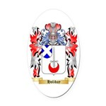 Holiday Oval Car Magnet