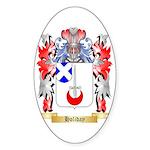 Holiday Sticker (Oval 10 pk)