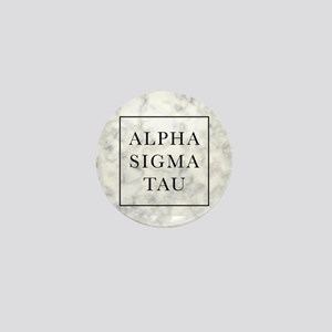 Alpha Sigma Tau Marble Mini Button