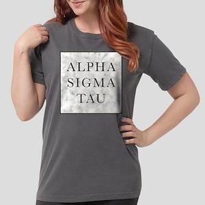 Alpha Sigma Tau Marble Womens Comfort Colors Shirt