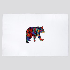 BEAR PAINTED 4' x 6' Rug