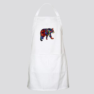 BEAR PAINTED Light Apron