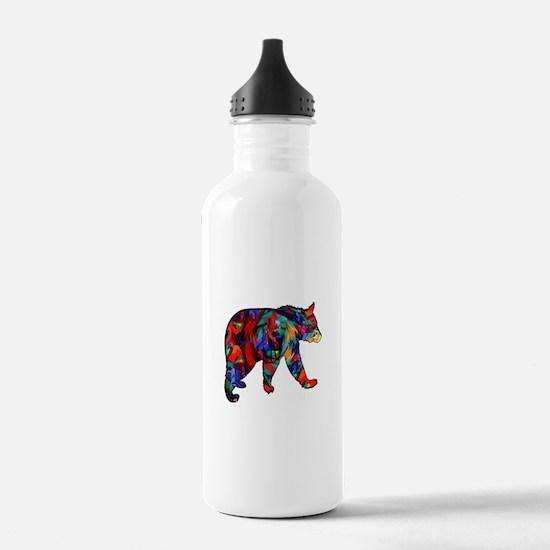 BEAR PAINTED Water Bottle